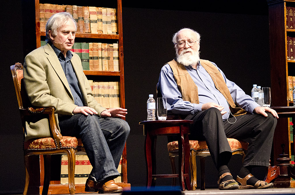 Vir Narain: The new atheists border on dogmatism. Pictures: Richard Dawkins and Daniel Dennett at the 2012 Global Atheist Conference.