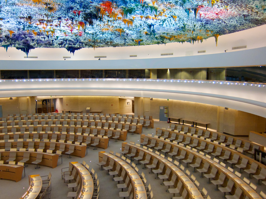 Amelia Cooper reports again from the UN Human Rights Council in Geneva, where she speaks on behalf of the British Humanist Association