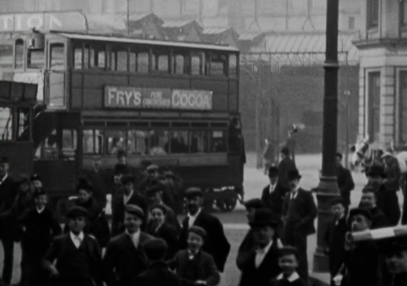 Turn of the century Bradford. Credit: BFI