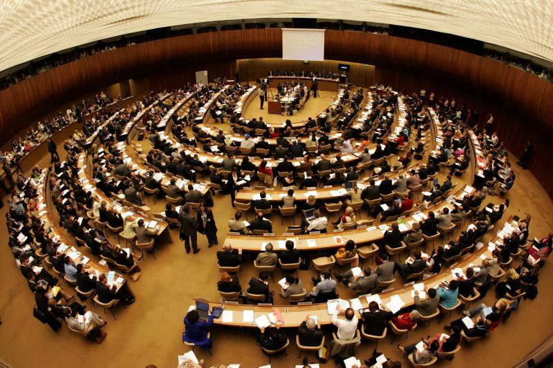 Fierce debate at the Human Rights Council in Geneva. Photo: UN.
