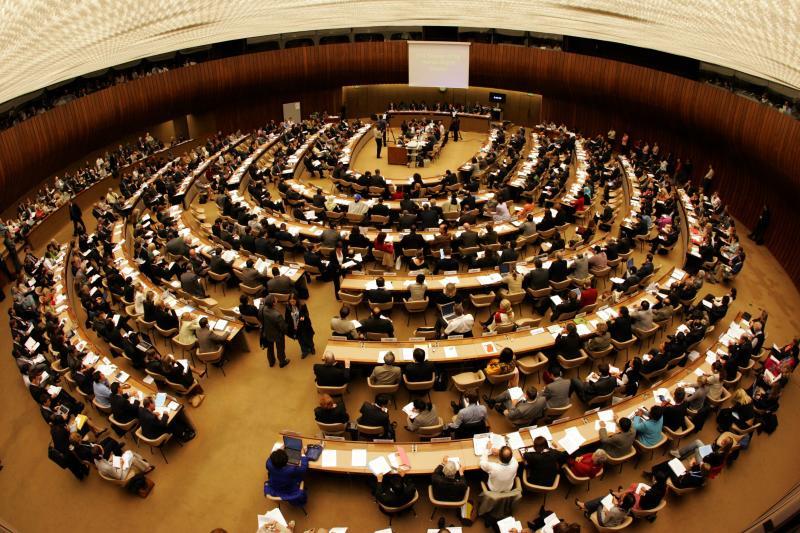 Fierce debate at the Human Rights Council in Geneva. Photo: UN.