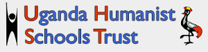 The logo for the Uganda Humanist Schools Trust, one of many organisations in 2015 around the world motivated by a humanist worldview