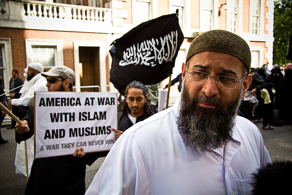 Hate preacher Anjem Choudary. Photo credit: Dan H/Flickr