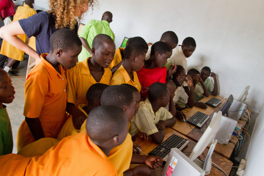 Schools in Uganda greatly benefited from last year's Non-Prophet Week